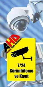 ahd güvenlik kamera sistemleri satış ve kurulum