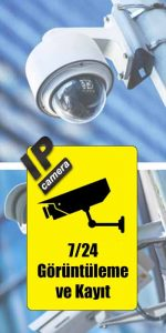 ip güvenlik kamera ve izleme sistemleri