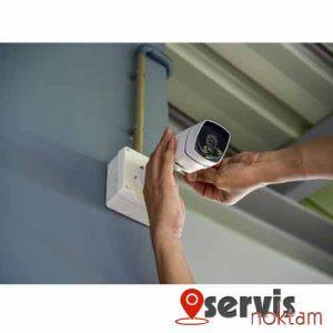 güvenlik kamerası değişim ve servis