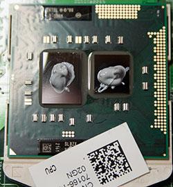notebook cpu termal iletken uygulaması