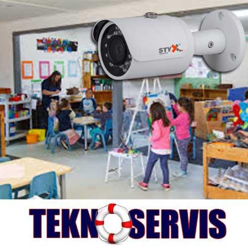 anaokulu güvenlik kamera sistemleri