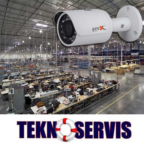 fabrika güvenlik kamera sistemleri