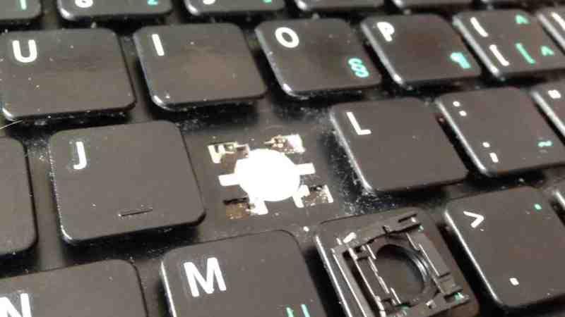 arızalı notebook klavyesi, notebook klavye değişimi