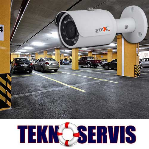 otopark güvenlik kamera sistemleri