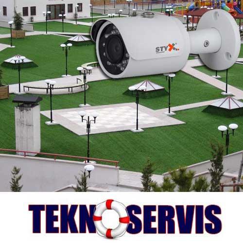 park ve bahçe güvenlik kamera sistemleri