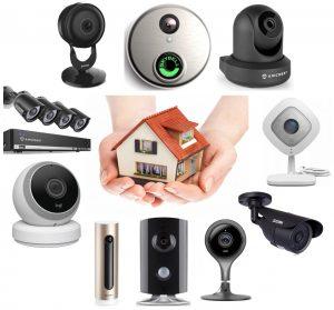 ev için güvenlik sistemleri